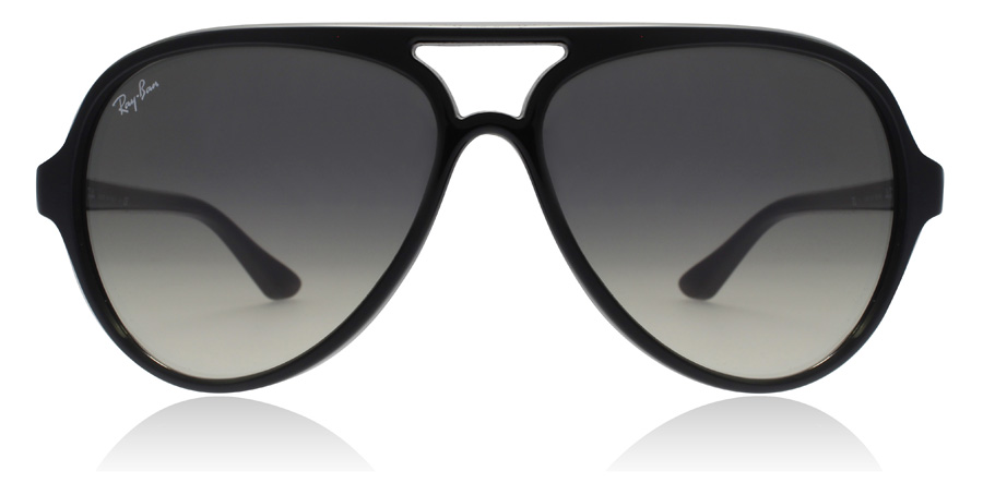 18edad14a recently viewed items. Ray-Ban CATS 5000 RB4125 Shiny Black 601/32 59mm