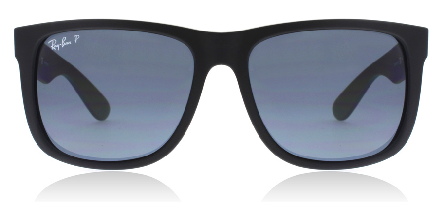 Ray-Ban Justin RB4165 Matte Black 622/2V 55mm Polarised