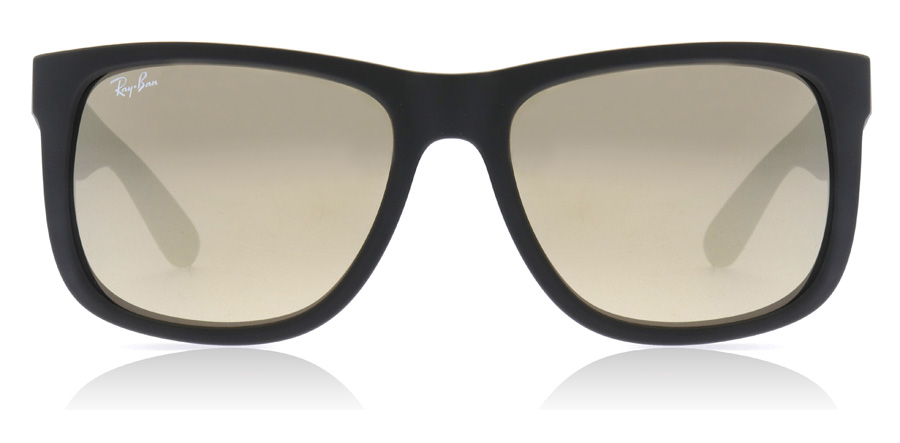 Ray-Ban Justin RB4165 Rubber Black 622/5A 55mm