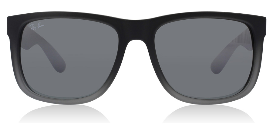 Ray-Ban Justin RB4165 Rubber Grey to Transparent 852/88 51mm