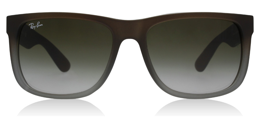 Ray-Ban Justin RB4165 Rubber Brown / Grey 854/7Z 54mm
