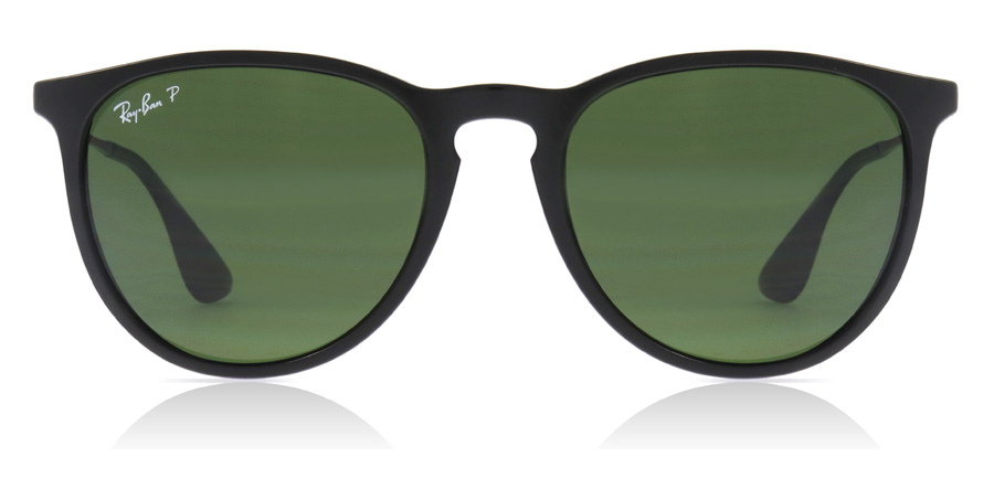 Ray-Ban Erika RB4171 Black 601/2P 54mm Polarised