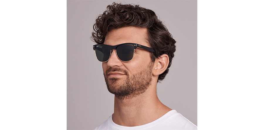 d78f831e6 Ray-Ban Oversized Sunglasses : Oversized Black RB4175 57Mm : UK