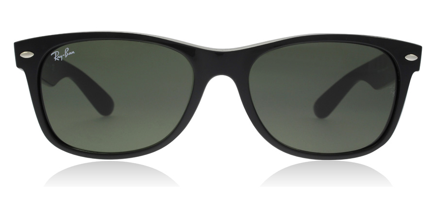 Ray-Ban RB2132 New Wayfarer Black 901 52mm