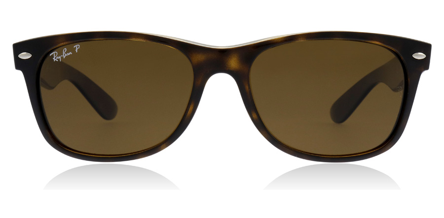 f3238f8df2 Ray-Ban New Wayfarer Sunglasses   New Wayfarer Tortoise 2132 55Mm   UK