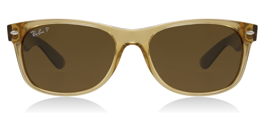 Ray-Ban New Wayfarer RB2132 Honey 945/57 55mm Polarised