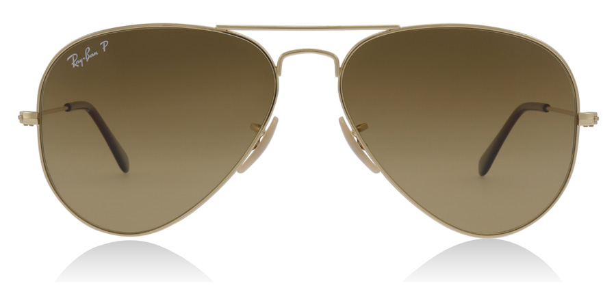 Ray-Ban Aviator RB3025 Gold 001/M2 58mm Polarised
