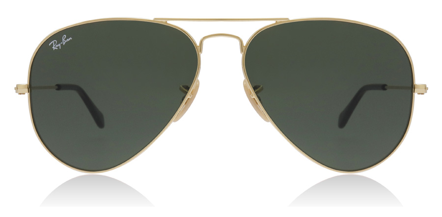 9707e7db5a3 Ray-Ban RB3025 Sunglasses   RB3025 Gold RB3025 58Mm   UK