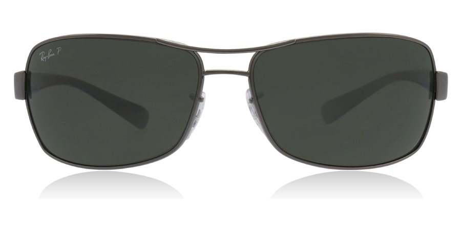 Ray-Ban RB3379 3379 Gunmetal Crystal and Black 004/58 64mm Polarised