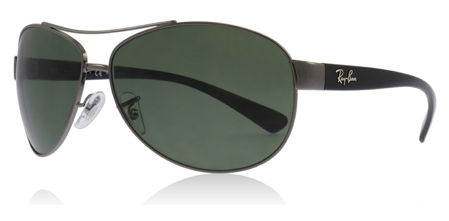 54984b4933 Ray-Ban RB3386 Sunglasses   RB3386 Gunmetal RB3386 63Mm   UK