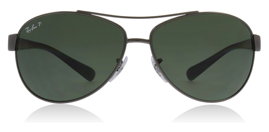 Ray-Ban RB3386 Gunmetal 004/9A 63mm Polarised