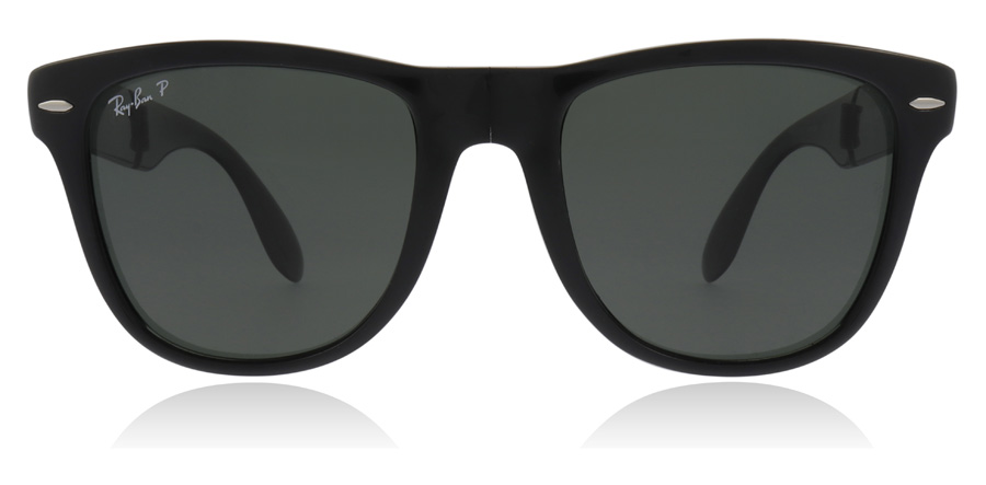 Ray-Ban RB4105 Folding Gloss Black 601/58 54mm Polarised