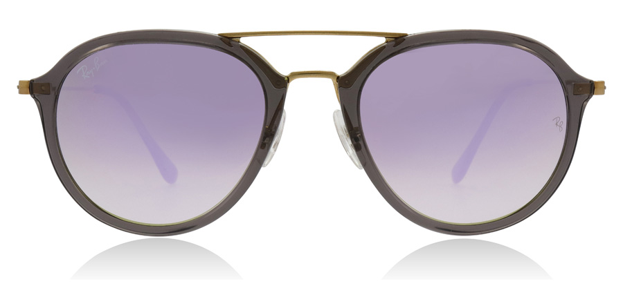 Ray-Ban RB4253 Gold / Crystal Grey 62377X 53mm