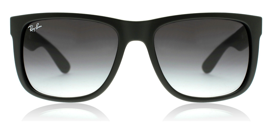 Ray-Ban Justin RB4165 Matte Black 601/8G 55mm