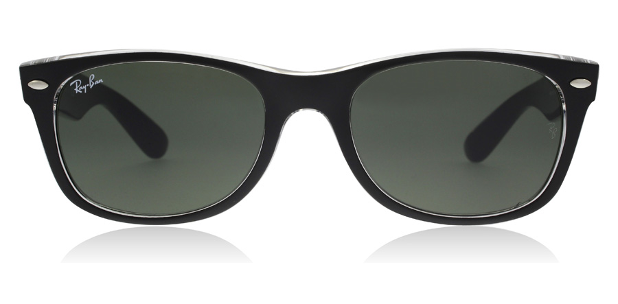 Ray-Ban RB2132 New Wayfarer Black Crystal 6052 55mm