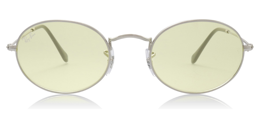 Ray-Ban Oval RB3547 Silver 003/T4 51mm