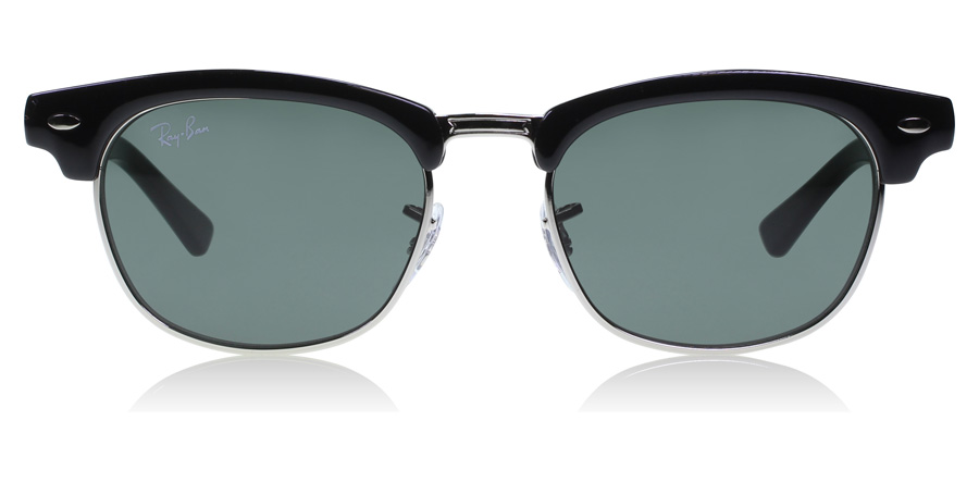 Ray-Ban Junior RJ9050S Age 4-8 Years Black / Silver 100/71 45mm