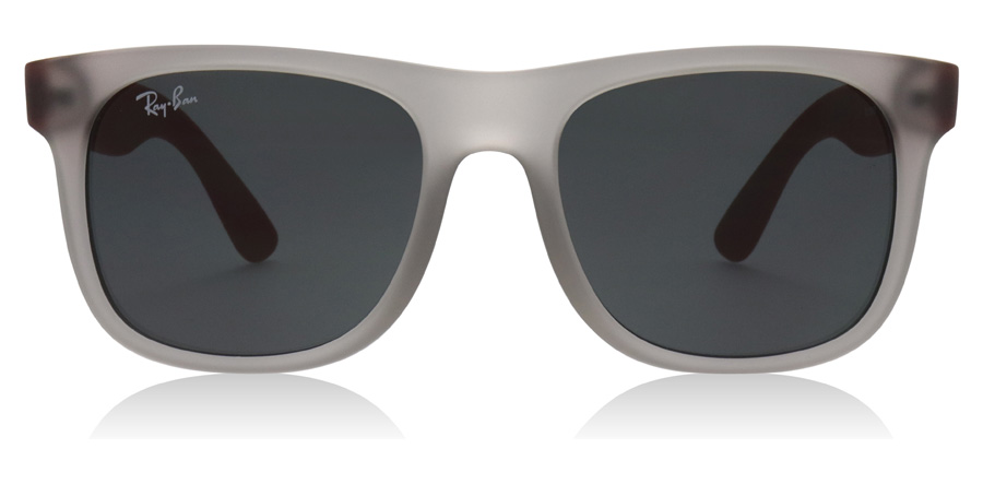 Ray-Ban Junior RJ9069S Age 8-12 Years 705987 Rubber Trasp Grey 48mm