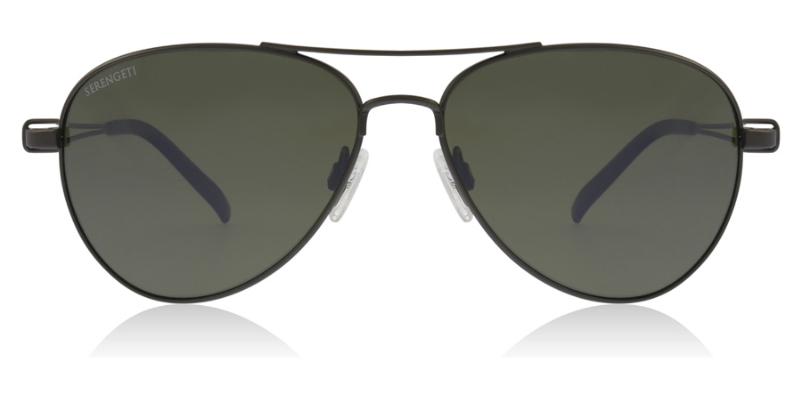 Serengeti Brando Velvet Gunmetal 7541 55mm Polarised