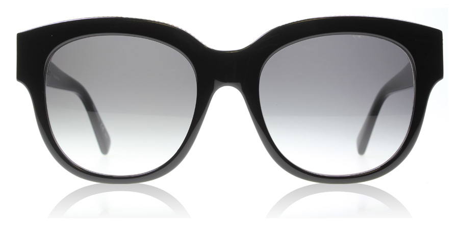 Stella McCartney 0007S Black 001 54mm