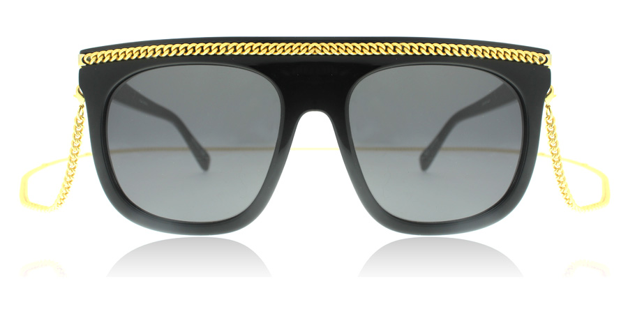 Stella McCartney SC0043S Black Smoke 001 55mm