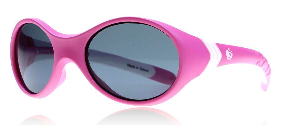 Compare prices for Zoobug ZB5001 0-3 Years Sunglasses Pink / White 210 41mm