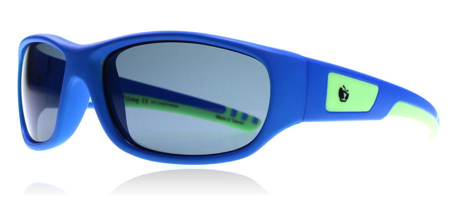Compare prices for Zoobug ZB5003 4-10 Years Sunglasses Blue / Green 608 50mm