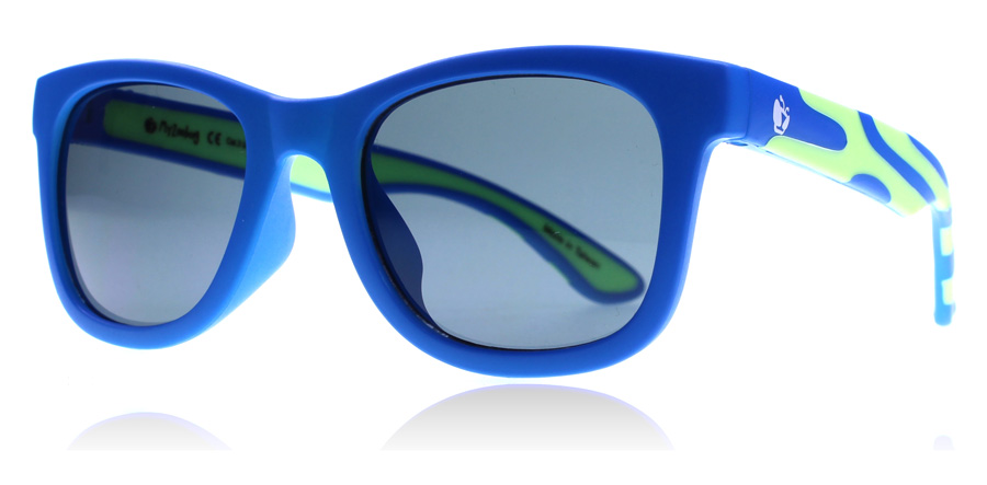 Compare prices for Zoobug ZB5005 4-10 Years Sunglasses Blue / Green 608 45mm