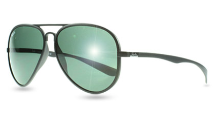 Ray-Ban 4180 Liteforce Tech Aviator Sunglasses at Sunglasses Shop UK