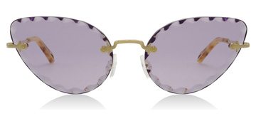 Chloé Rosie Gold / Purple