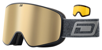 Dirty Dog Mutant Legacy 0.5 Matte Black / Brown / Yellow