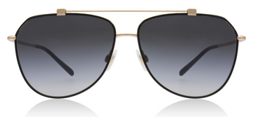 Dolce and Gabbana DG2190 Black / Rose Gold