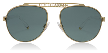 Dolce and Gabbana DG2235 Gold