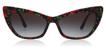 Dolce and Gabbana DG4370 Print Rose Hearts