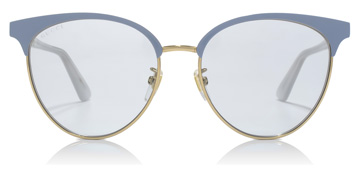 Gucci GG0245S Endura Gold / Baby Blue