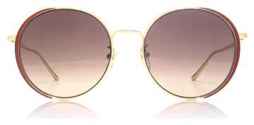 Gucci GG0401SK Endura Gold / Transparent Red