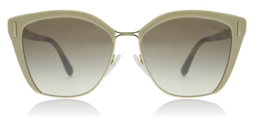 Prada PR56TS Light Brown/Pale Gold