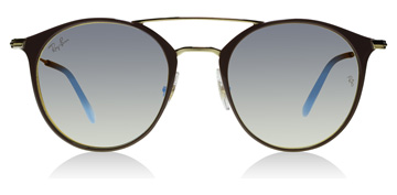 Ray-Ban RB3546 Gold Top Beige