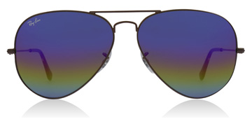 Ray-Ban RB3025 Metallic Dark Bronze