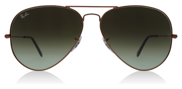 Ray-Ban RB3026 Shiny Medium Bronze