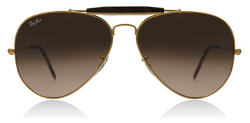 Ray-Ban Outdoorsman II Shiny Light Bronze
