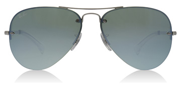 Ray-Ban RB3449 Silver