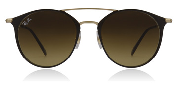 Ray-Ban RB3546 Gold Top Brown