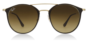 Ray-Ban RB3546 Gold / Brown