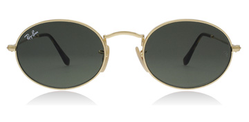 Ray-Ban Oval Gold