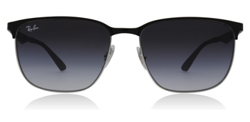 Ray-Ban RB3569 Silver Top Black