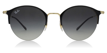 Ray-Ban RB3578 Gold Top Shiny Black