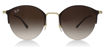 Ray-Ban RB3578 Gold Top Brown