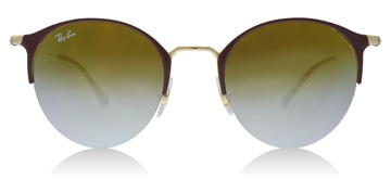 Ray-Ban RB3578 Gold Top Turtle Dove