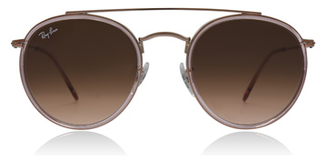 Ray-Ban Round Double Bridge Pink